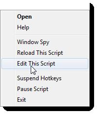"""Välj """"Edit This Script"""" i högerklicksmenyn för att redigera skriptet."""