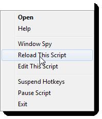 """Välj sedan """"Reload This Script"""" för att de ändringar du gjort ska verkställas."""