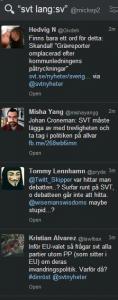 Med Tweetdeck kan man hålla koll på väsentligheter.