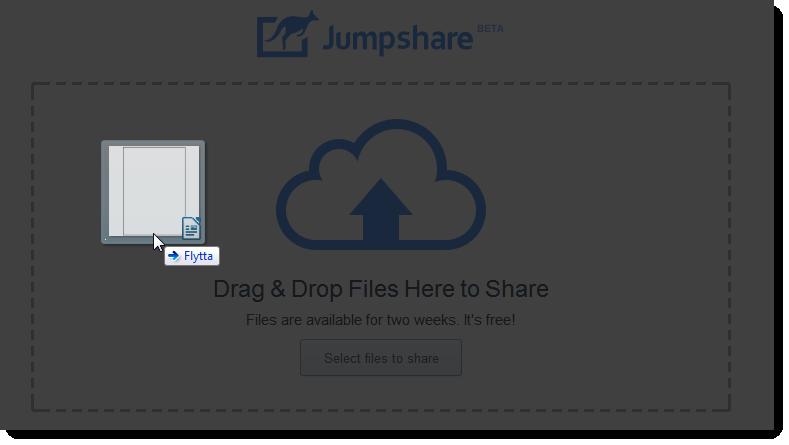 Dra bara filen från Utforskaren eller Skrivbordet - och sluta upp med att mejla