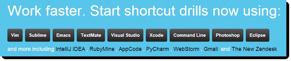 Tjänsten Shortcu Foo tränar dig i kortkommandon - till exempel i Gmail.