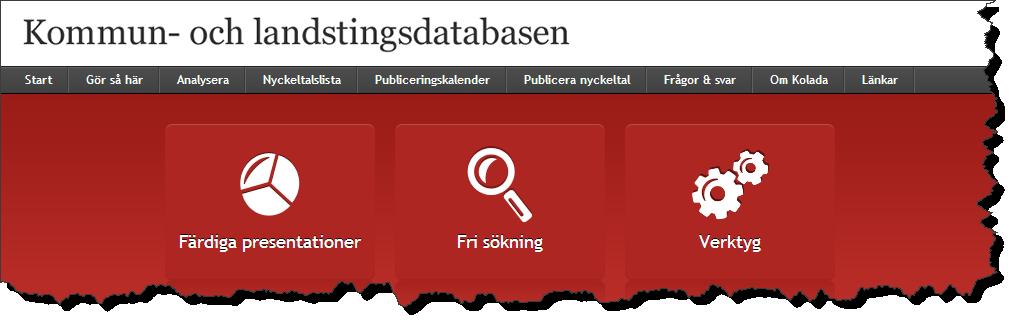 Kommun- och landstingsdatabasen Kolada innehåller allt du kan tänka dig att du har dragit dig för att göra en rundringning om