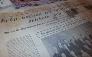 ...men först var vi inte. (Tack Bertholof Brännström; tidningen finns på Strömbäcks folkhögskola.)